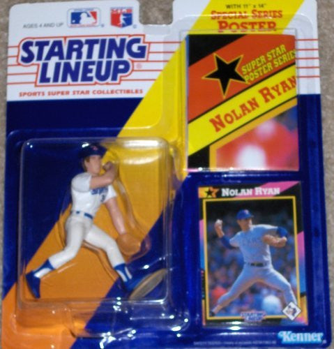 Nolan Ryan 1992 Starting Lineup Texas Rangers