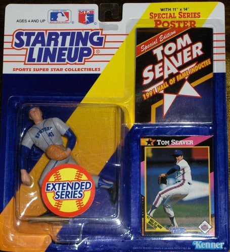 Tom Seaver 1992 Starting Lineup Extended Series New York Mets