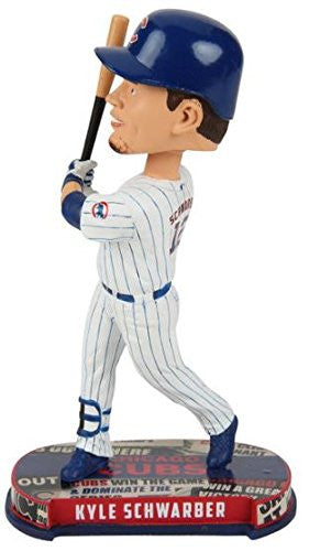 KYLE SCHWARBER CHICAGO CUBS HEADLINE BOBBLEHEAD Forever Collectibles