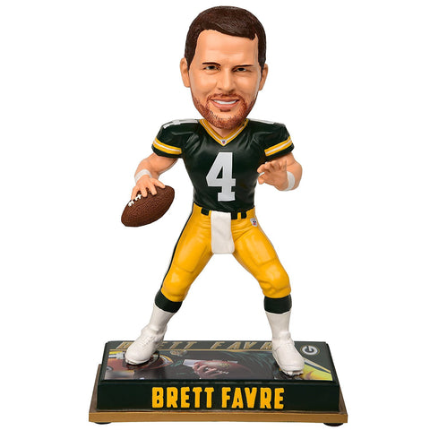 Brett Favre Green Bay Pakcers Retired 8 inch Bobblehead