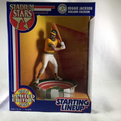 1994 Reggie Jackson Stadium Star Club figure Oakland A's MLB