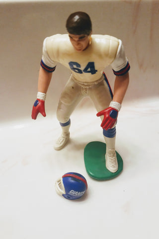 1989 Jim Burt New York Giants Starting lineup figure  open out of package with helmet NFL