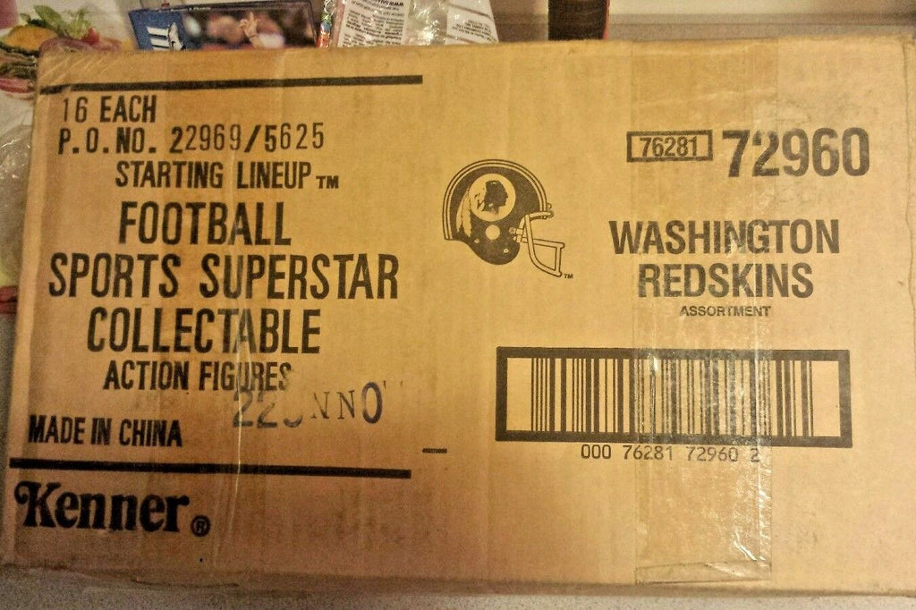 1990 Washington Redskins Starting Lineup Open Case Original Factory box
