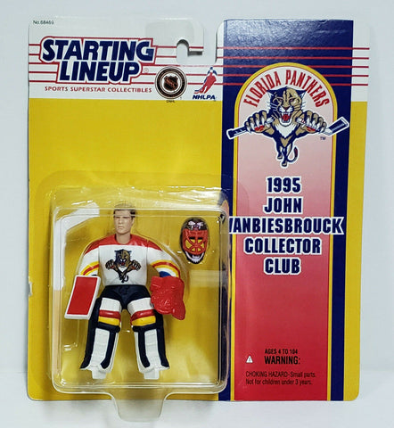 1995 John Vanbiesbrouck NHL Starting Lineup Collector Club Figure by Starting Line Up