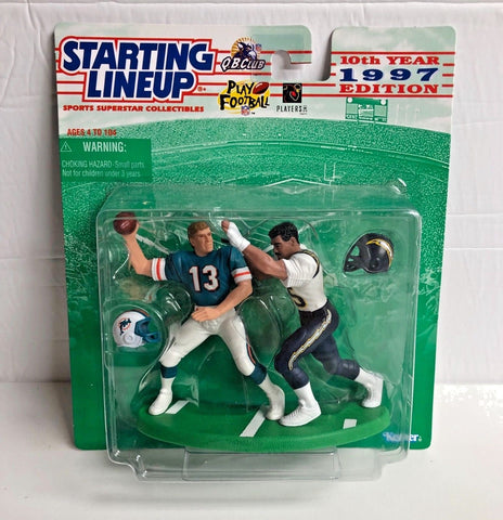 1997 Dan Marino and Junior Seau NFL Collector Edition Starting Lineup Figure