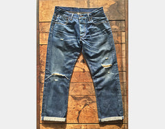 Style 4611 : 13.75 oz. Selvage with Red ID