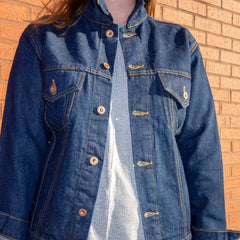 Cone Denim Hemp Trucker Jacket