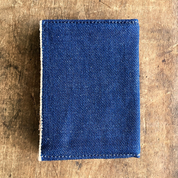 Natural Indigo Selvage Denim Wallet
