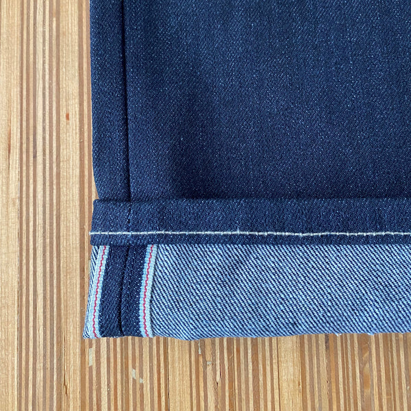 Style J58112 :   15.50 oz. Cone Deeptone Denim™ Indigo Selvage with Red Selvage ID