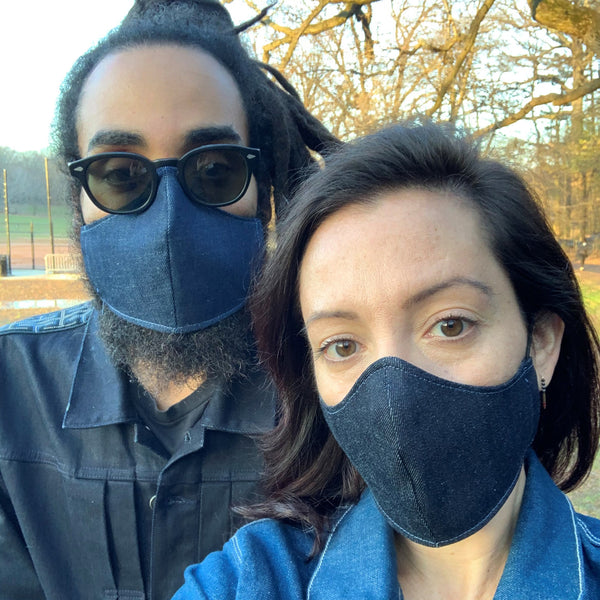 The Cone Denim Face Mask