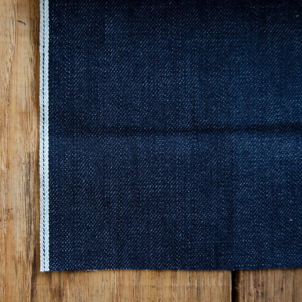 Style W401 : 12.00 oz. Selvage with Indigo ID