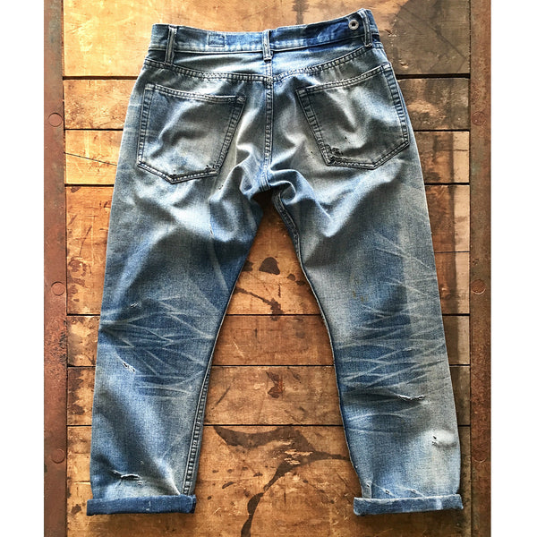Style W821 : 11.00 oz. Indigo Selvage with 35% Recycled Polyester