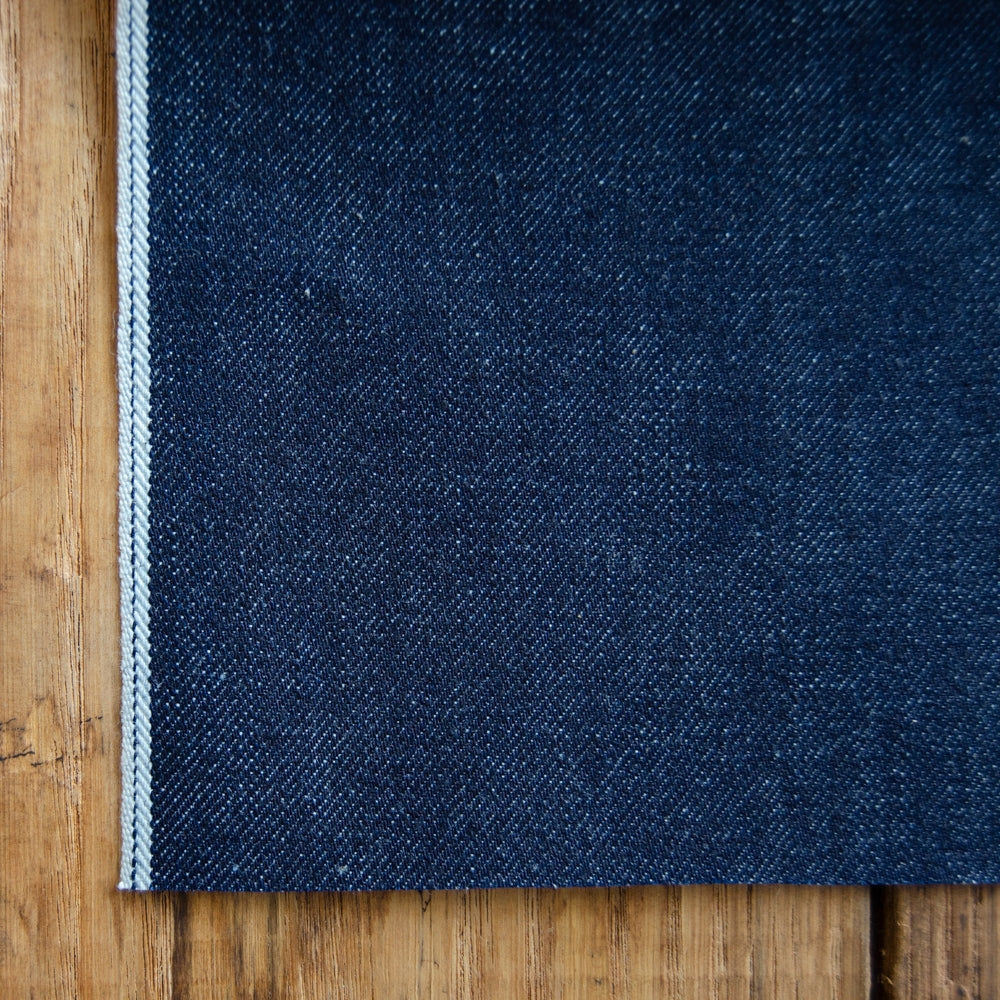 Style W920 : 13.5 oz. Selvage with Indigo ID