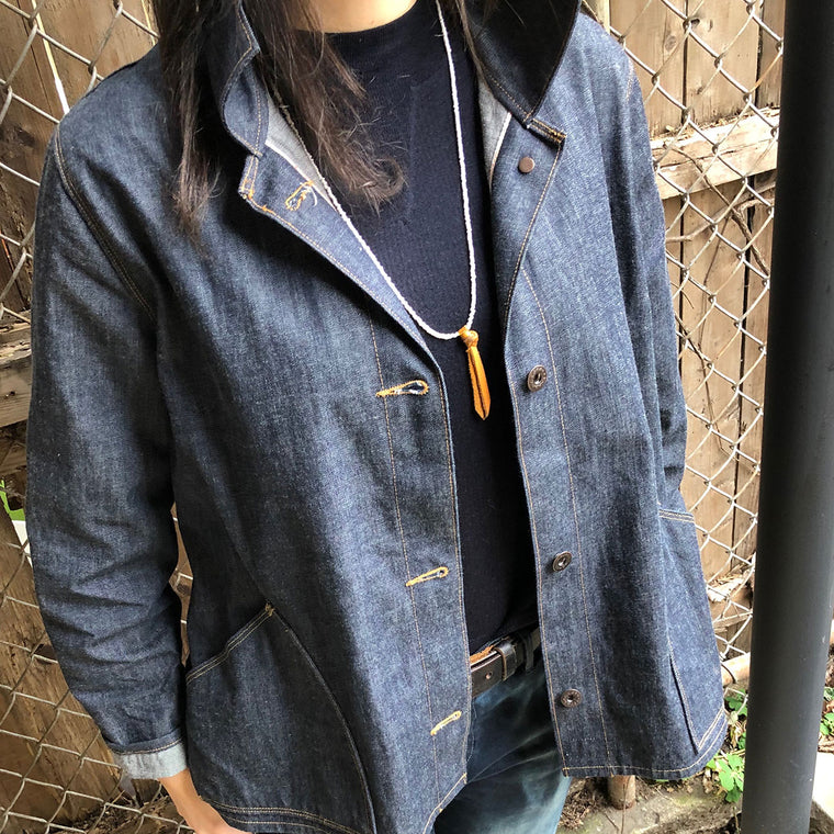 Limited Edition White Oak Selvage Women's A-Line Jacket