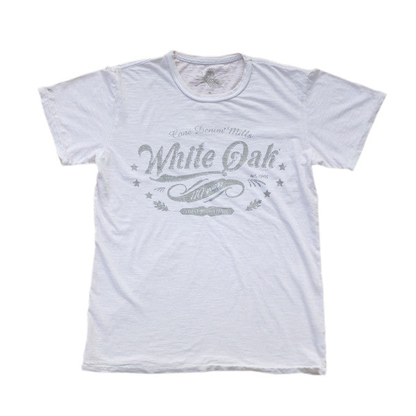 White Oak 110th Anniversary T-Shirt, White
