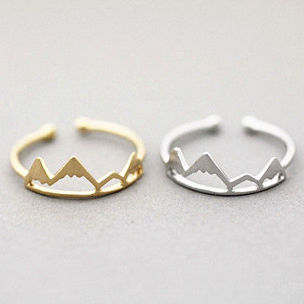 Ring - Snowy Mountains, Adjustable