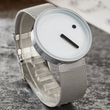 Dot and Line Watch - Stainless Steel