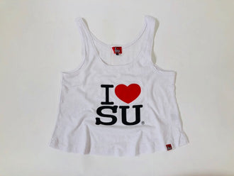 Women's I Love Su Muscle tank