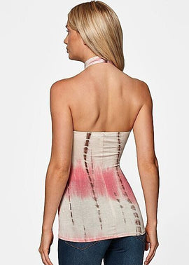 Top Bustier Sexy Sans Manches Backless Casual