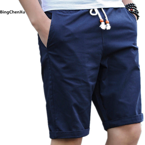 Shorts Hommes Casual Slim Fit Coton Respirant