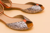 Juliette Glitter Brutt & Orange