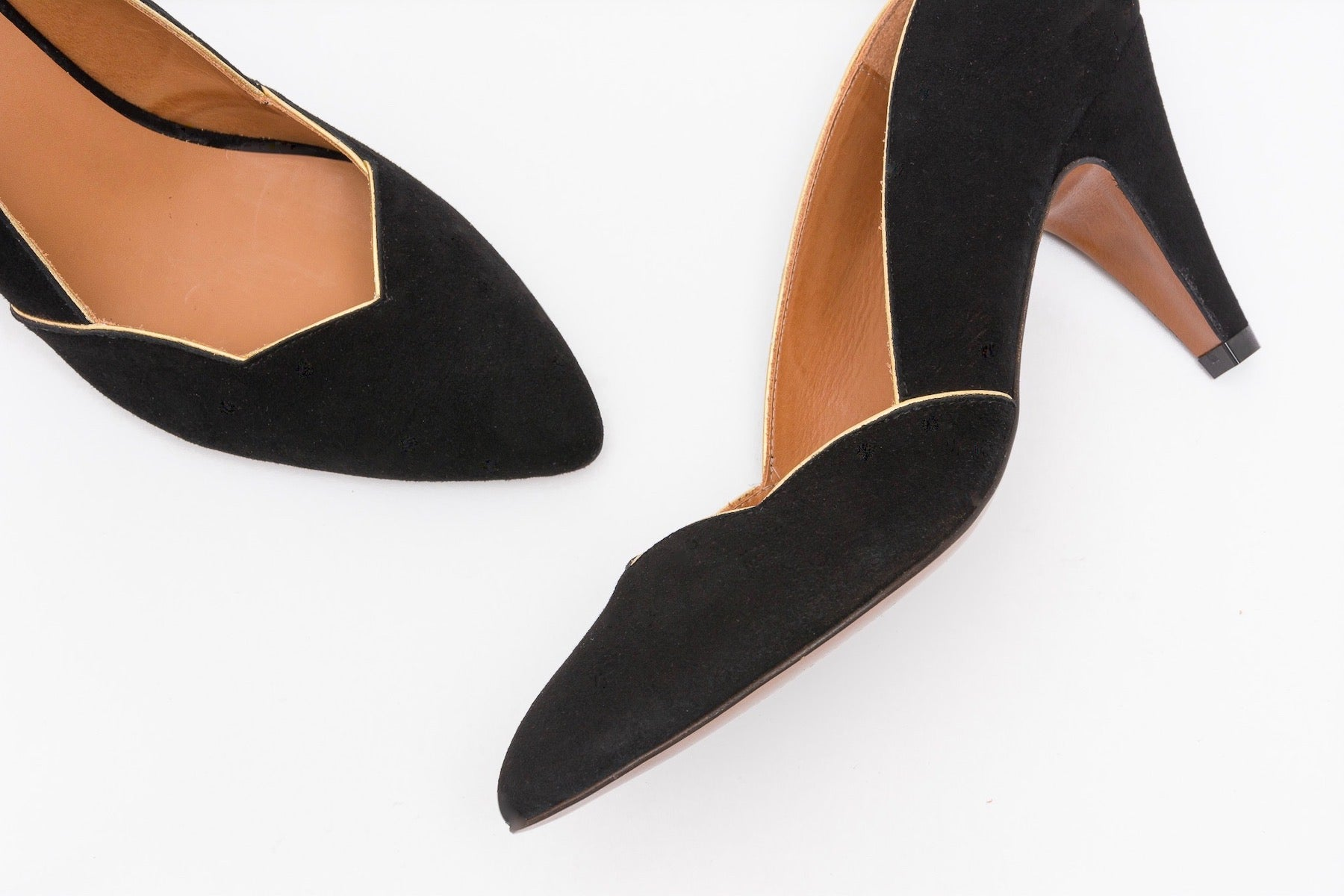 BIANCA Suede Black Pump