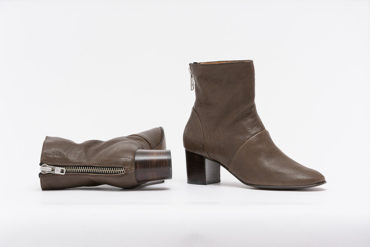 CLIFF Taupe boots