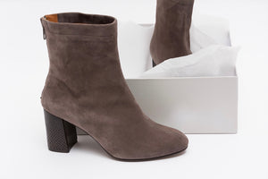 Botín DEANNA Suede Taupe Taupe