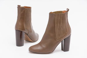 HOPE Taupe High Heel Boots