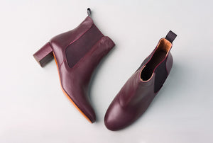 Odelle Bordeaux Chelsea Boot
