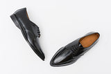 Patty Black Derby Shoe