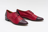Rene Bordeaux Oxford Shoe
