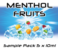Menthol Fruits 50ml Sample Pack (5x10ml) by FlavourMeister