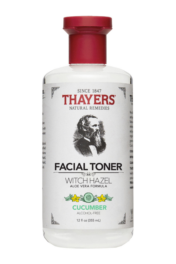 Cucumber Witch Hazel Aloe Vera Alcohol Free Toner