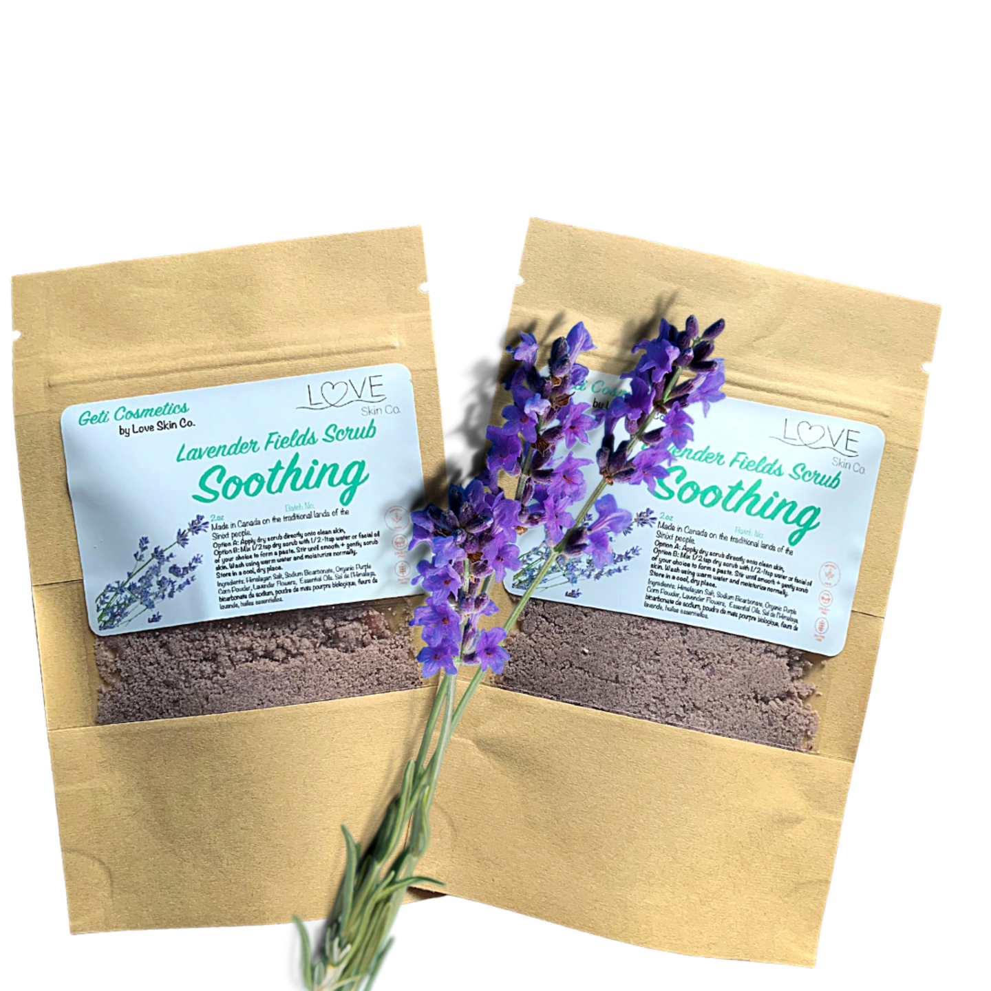 Lavender Fields Soothing Scrub