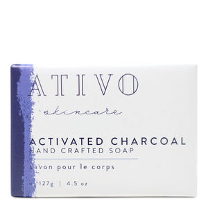 Activated Charcoal Spa Soap Bar