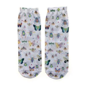 Insect Sparkle Shorty Unisex Socks