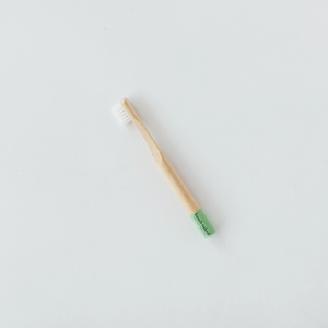 Kid's Bamboo Toothbrush - Green