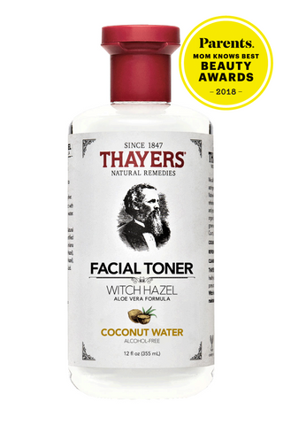 Coconut Water Witch Hazel Aloe Vera Alcohol Free Toner