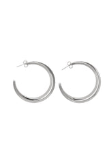 Load image into Gallery viewer, Radiance Hoop Earrings - Silver