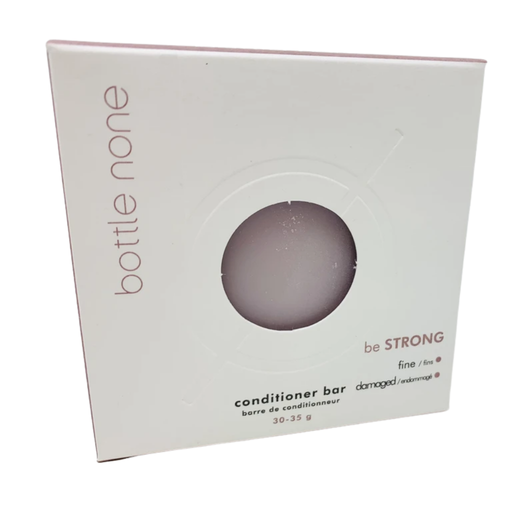 be STRONG Conditioner Bar for Fine & Damaged Hair