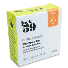 Load image into Gallery viewer, Citrus Shine Shampoo Bar for Thick Curly Hair