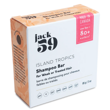 Load image into Gallery viewer, Island Tropics Shampoo Bar for Weak or Treated Hair