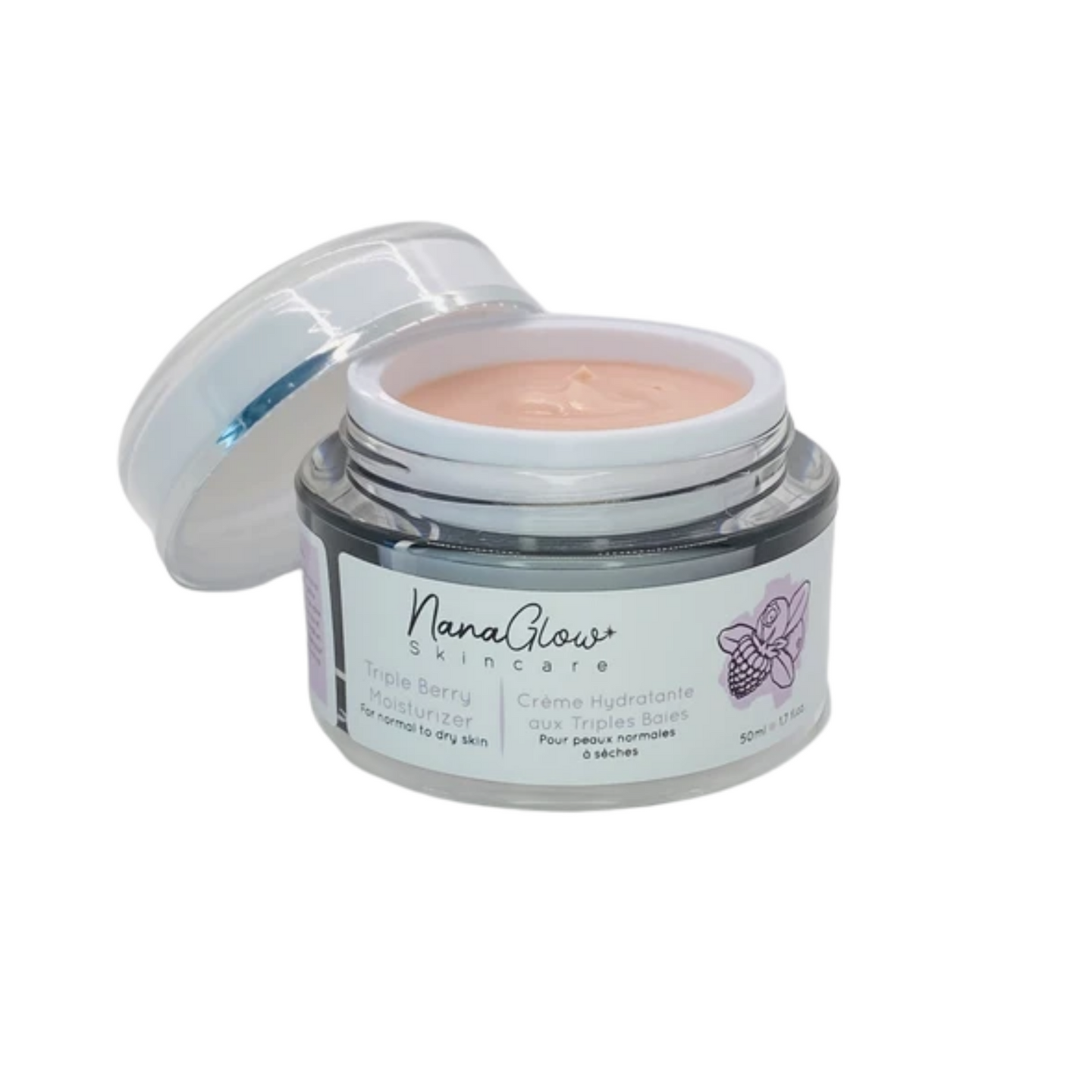 Triple Berry Gel Moisturizer for Normal to Dry Skin