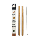 Bamboo Smoothie Straws - Pack of 2