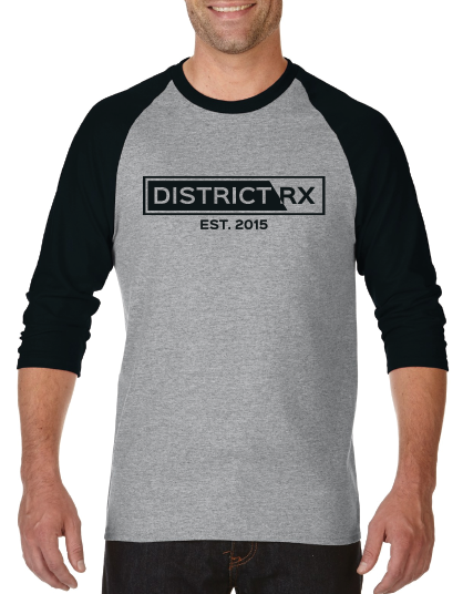 Baseball Tee ''Monochrome'' Unisexe District RX