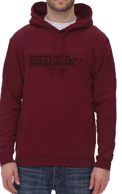 Hoodie ''Monochrome'' unisexe District RX