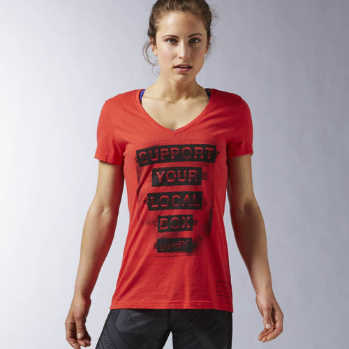 Chandail ''Support your local Box'' Reebok CrossFit