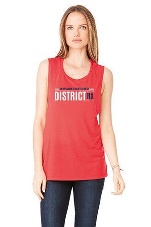 "Muscle Tank ""Our passion is our strength"""