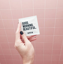 Happy Spritz - Good Morning Beautiful Towelettes 7 Day Bag